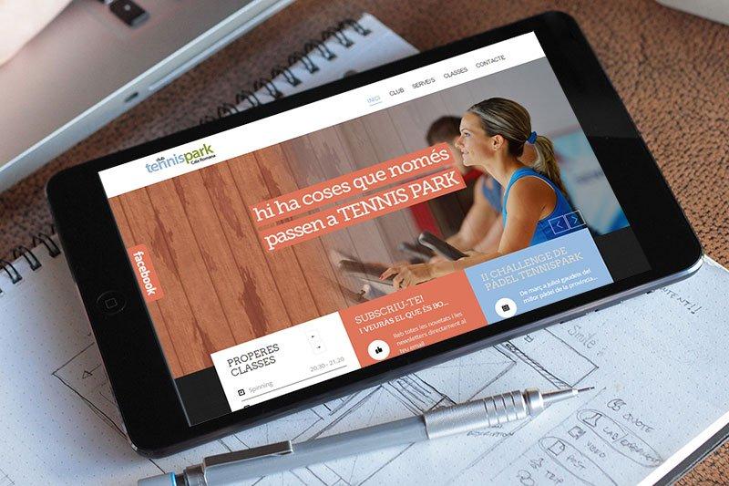 web wordpress deportiva, diseño web en Tarragona